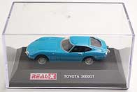 REAL-X TOYOTA 2000 GT 001-02